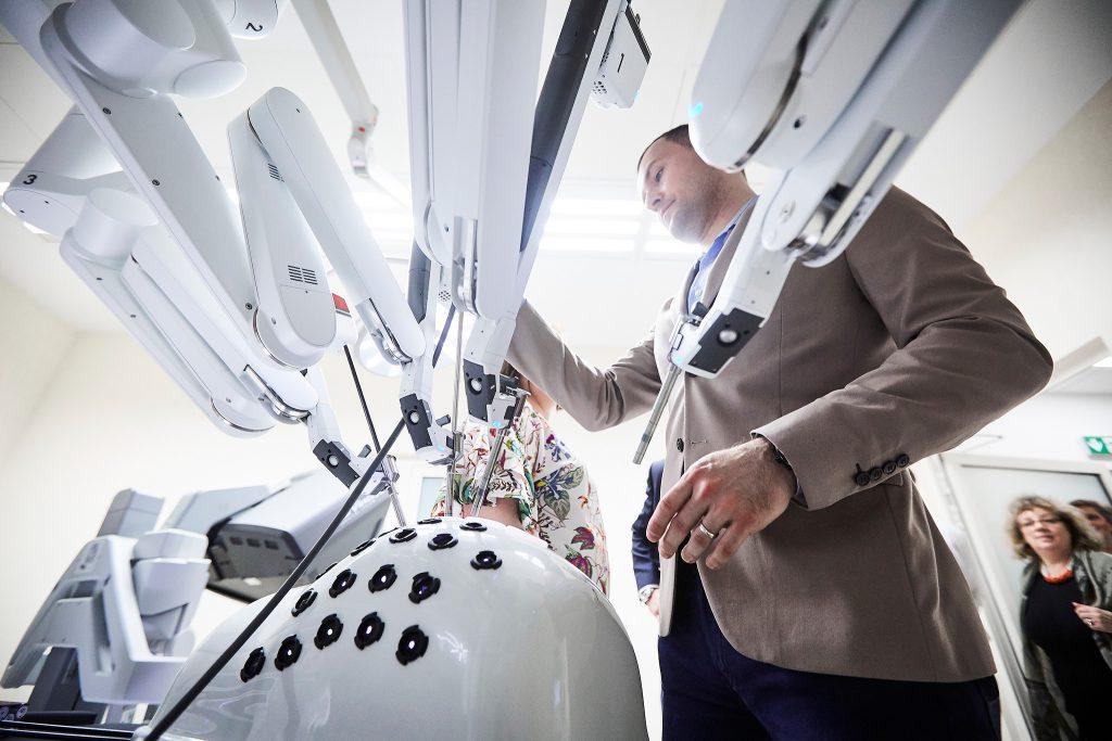 Otwarcie Centrum Chirurgii Robotycznej Szpitala na Klinach