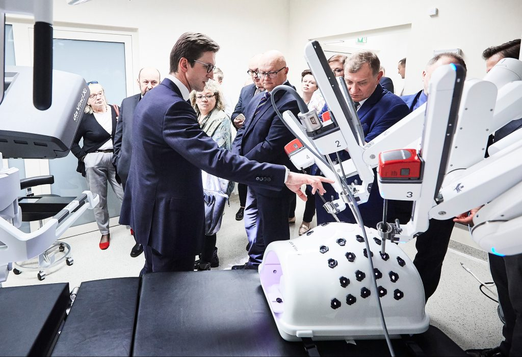 Centrum Chirurgii Robotycznej Szpitala na Klinach