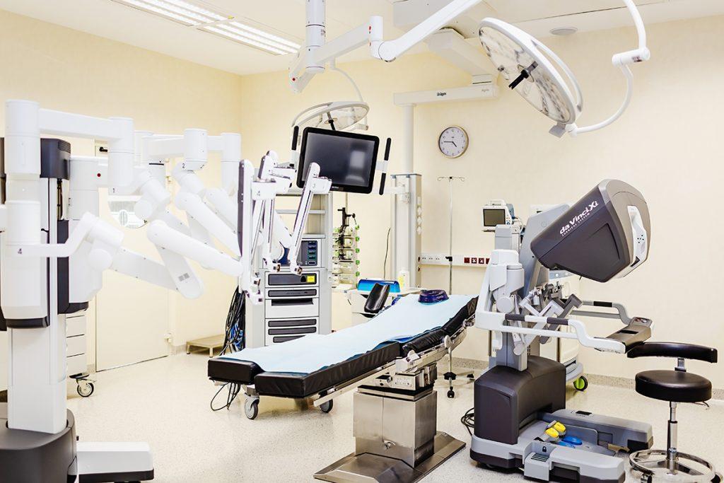 Szpital na Klinach operacje urologiczne da Vinci
