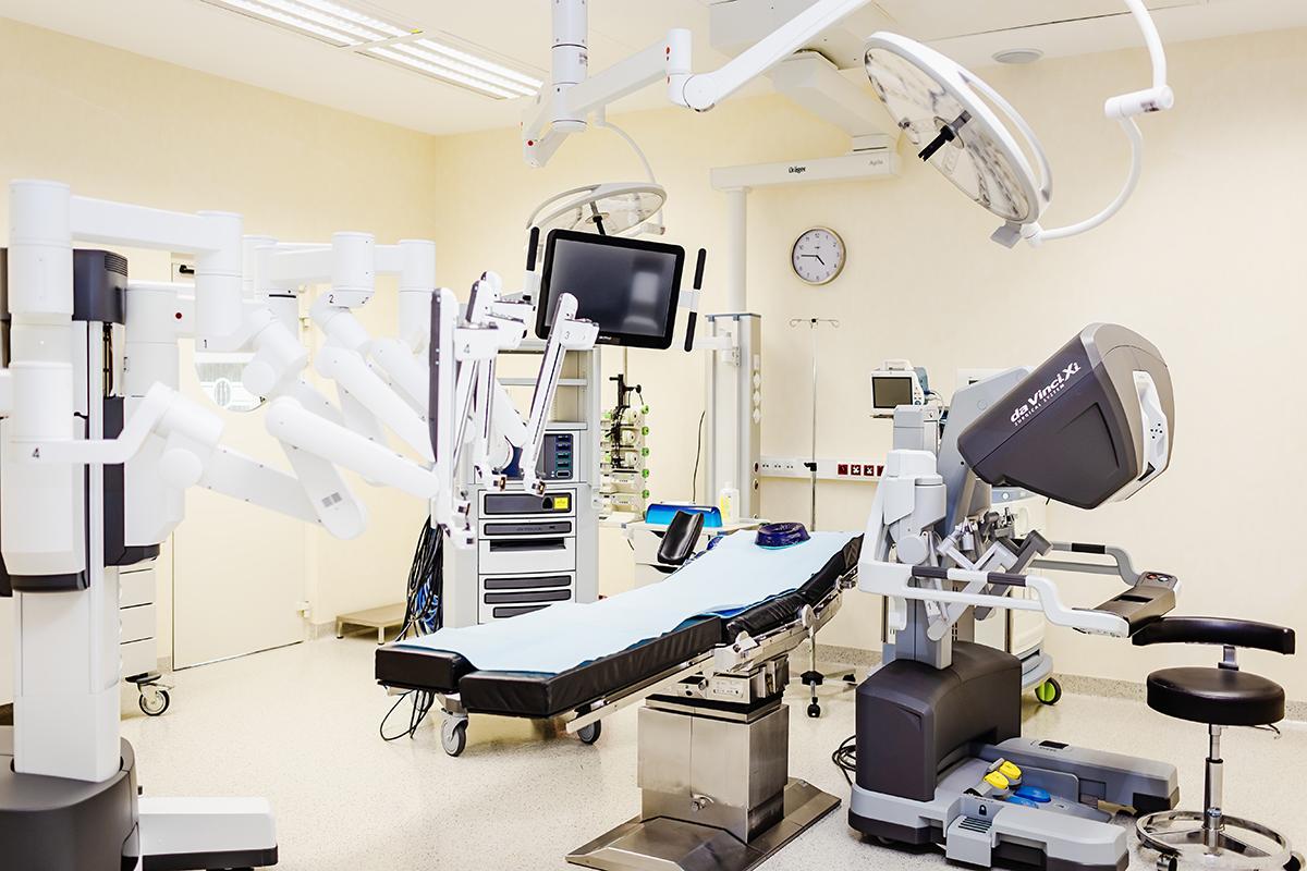operacje robotem da Vinci