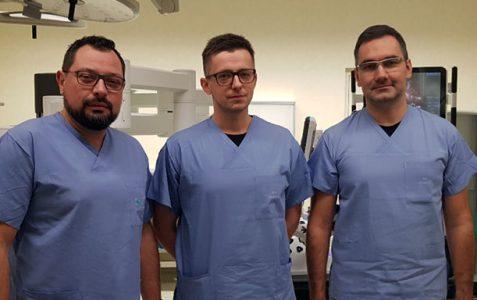 Pierwsze szkolenia z zakresu urologii robotycznej