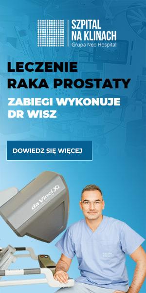 Operacyjne leczenie raka prostaty operuje dr Paweł Wisz