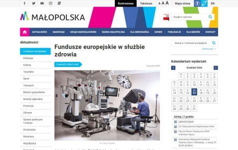 Fundusze europejskie w służbie zdrowia 2